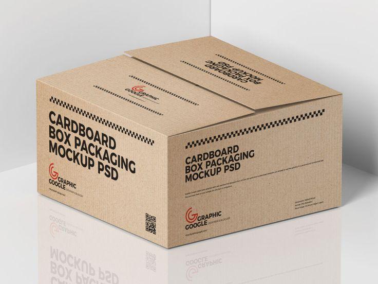 Download Free Cardboard Cargo Box Mockup Design For Packaging Mockup Planet Box Mockup Packaging Mockup Mockup Design