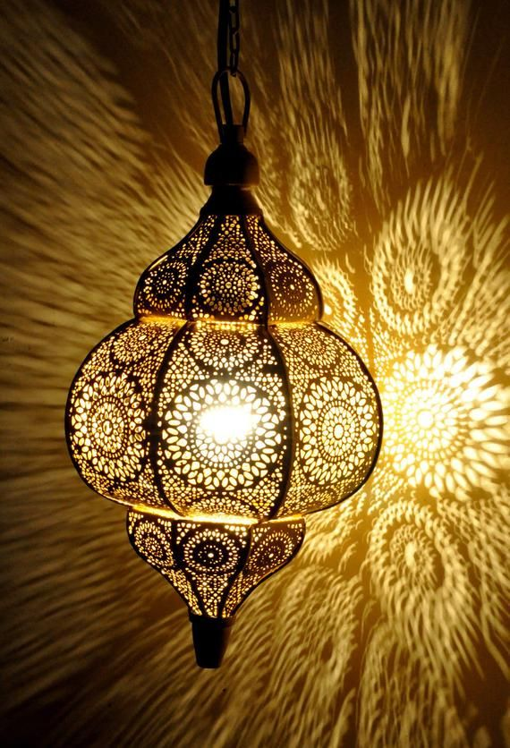 Moroccan Golden Ceiling Lights
