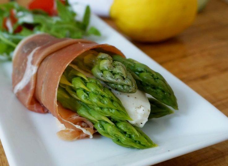 Asparagus Prosciutto Roll