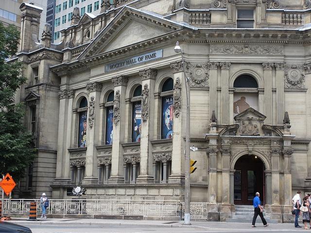 Toronto:  Hockey Hall of  Fame.