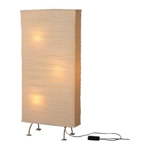 ORGEL Staande lamp/kamerscherm IKEA Kan worden gedimd; pas de lichtsterkte naar behoefte aan. Makkelijk te koppelen, max. 3, incl. verbindingssnoer.