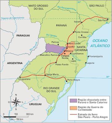 Paraná - Conheça seu Estado (História e Geografia): 10 - A Guerra do Contestado