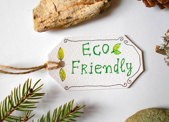 Eco-friendly labels Set of 5 10 15 20 50 or 100
