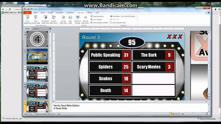 Jeopardy Template for Powerpoint Unique top Family Feud Questions and Answers Printable Free in ...