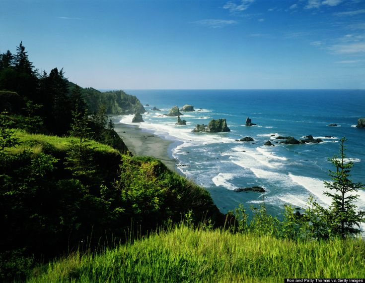 Hikers can explore 27 miles of the Oregon Coast Trail, daredevils can attempt a swim under the gorgeous Arch Rock, and nature lovers can spy seals and whales from the shore.