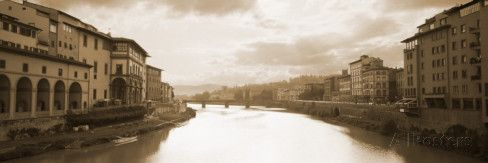 Arno River, Florence, Italy Wall Decal
