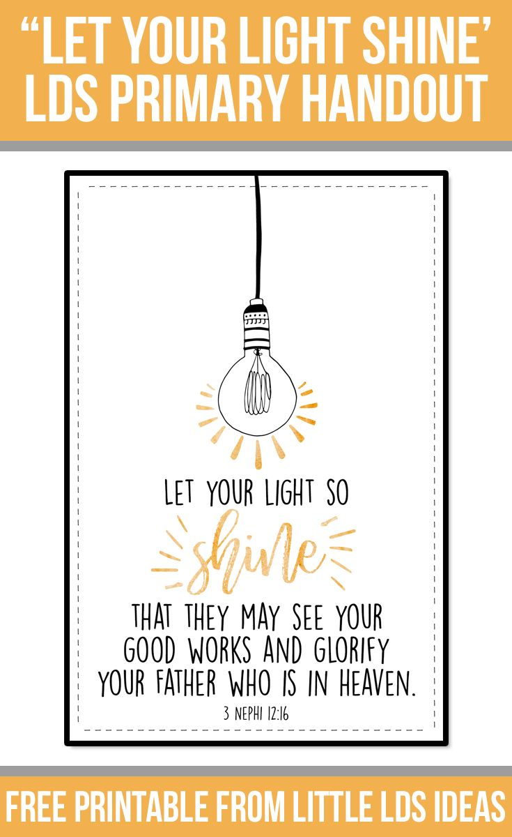 let your light shine craft ideas 97 best images about primary on crafts 7812