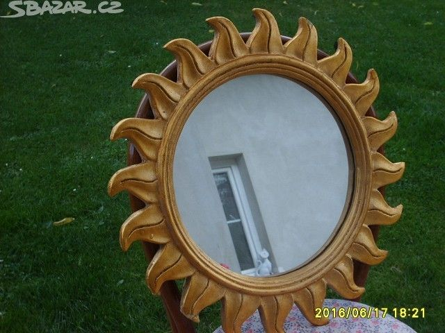 Zlacené zrcadlo slunce - obrázek číslo 1