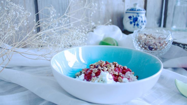 Healthy and delicious breakfast with cottage cheese and berries  #food #love #interior #healthy #recipes #cottagecheese #quark #interiordesign #breakfast #lunch #cooking