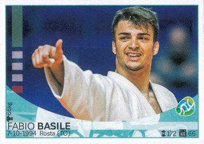Fabio Basile in 'Italia team - Rio 2016', Panini, Modena, 2016