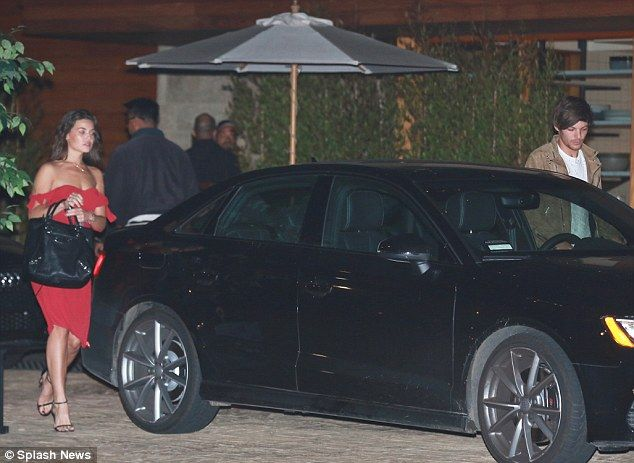 Just the two of us: On Saturday evening, Danielle Campbell looked glamorous as she and her...