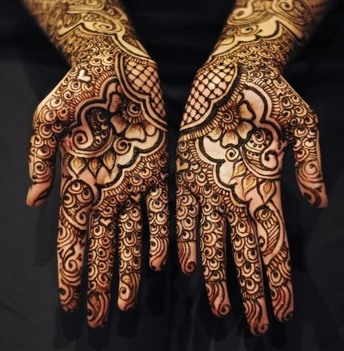 Henna is some of the most beautiful art i've ever seen