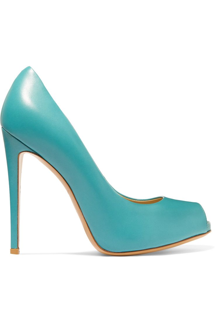 Shop on-sale Giuseppe Zanotti Leather pumps . Browse other discount designer Pumps & more on The Most Fashionable Fashion Outlet, THE OUTNET.COM