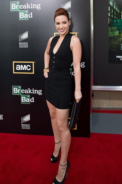 Breaking Bad Season 5 Premiere  Allison Scagliotti of Warehouse 13