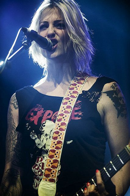 Brody Dalle by proximusgoformusic, via Flickr