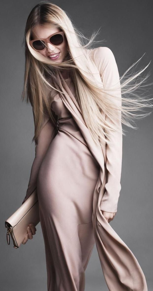 Nude colors, another growing trend this season!~