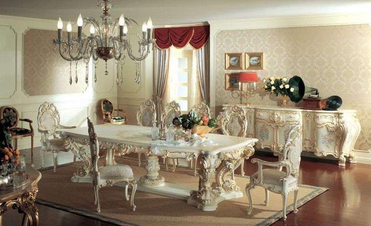 Sala da pranzo stile veneziano - Sala da pranzo barocca