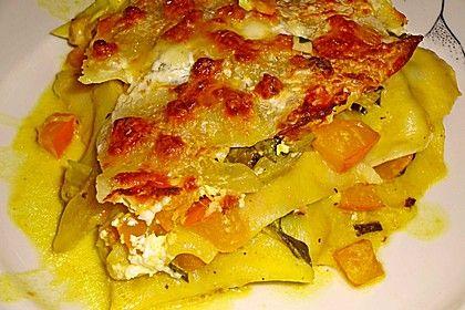 Vegetarische Kürbis - Mangold - Lasagne (Rezept mit Bild) | Chefkoch.de