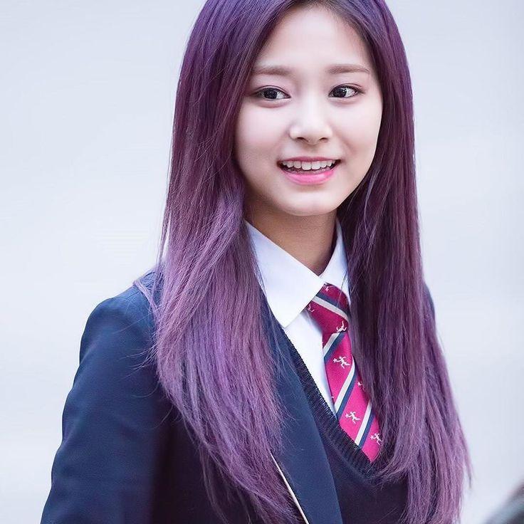 ;🌺 miss her purple hair💕 — ❥161104   Music Bank🌸 📸· © owner — tags; [ 💐 #twice #트와이스 #once #원스 #tzuyu #jyptwice #tzuyutwice #zhoutzuyu #tzuyuchou #jyp #kpop #tzuyupixies #flawlesstzuyu #쯔위 ]  via ✨ @padgram ✨(http://dl.padgram.com)