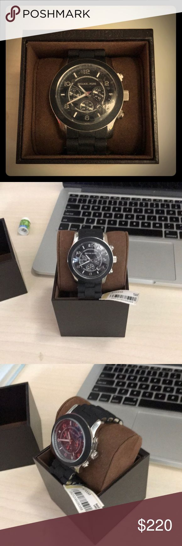 Brand new Michael Kors watch Brand new, tags and plastic covering still on, has not been worn or fitted. Details for 250 asking 220. KORS Michael Kors Accessories Watches