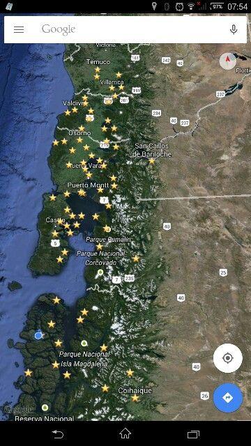 Algo recorrido.... En el.sur.... Chile.