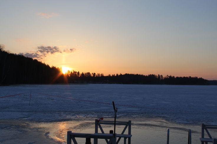 Aamu #Punkaharju #Finland #morning  #kevät #luonto  #Puruvesi #Suomi #houseforsale   #spring