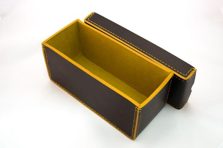 Leather box by. Adriana Herrera ♥