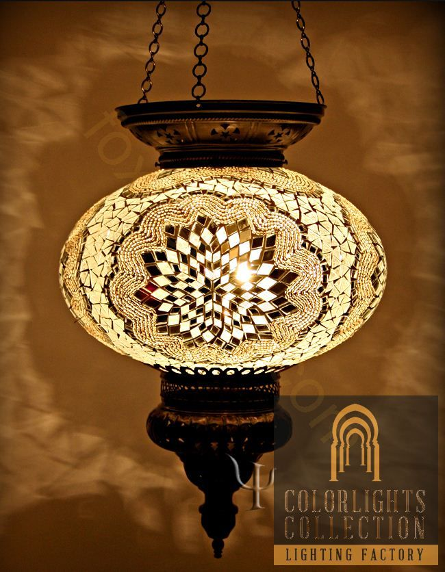 Show details for Mosaic Hanging Lamp