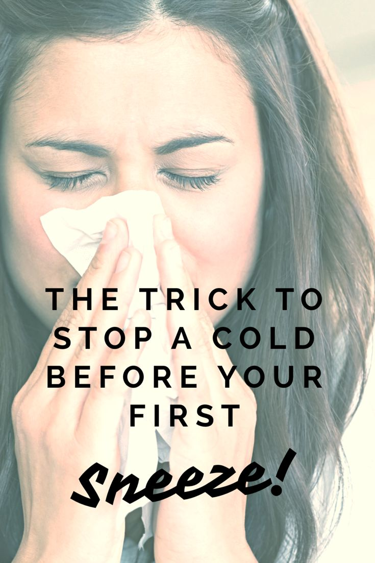 This simple trick can help prevent catching a cold