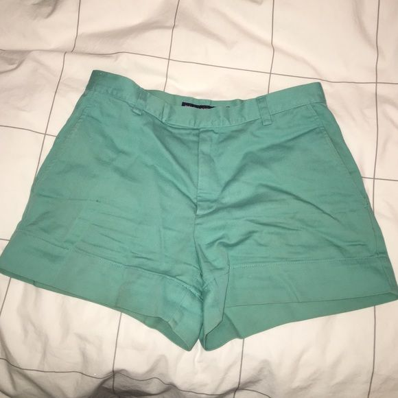 Ralph Lauren sport Aqua shorts size 4 Great condition! A little higher waisted so very comfortable Ralph Lauren Shorts