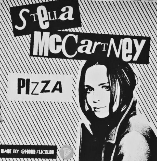 STELLA McCARTNEY  STELLA PIZZA 💯 from  ℹ︎nstagram 2016