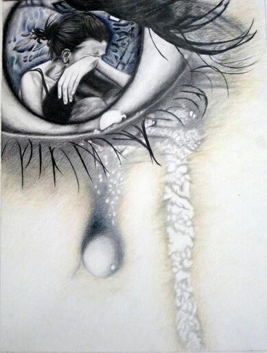 U can feel her pain......  So deep!  Love!!