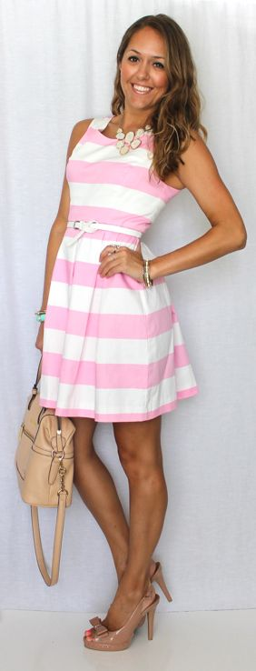 girly look. love the bow pumps! from my fav blogger: J's Everyday Fashion