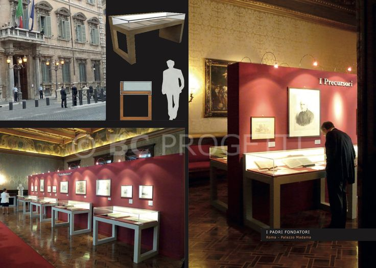 "Mostra ""I Padri fondatori"" - Roma, Palazzo Madama. #BCProgetti"