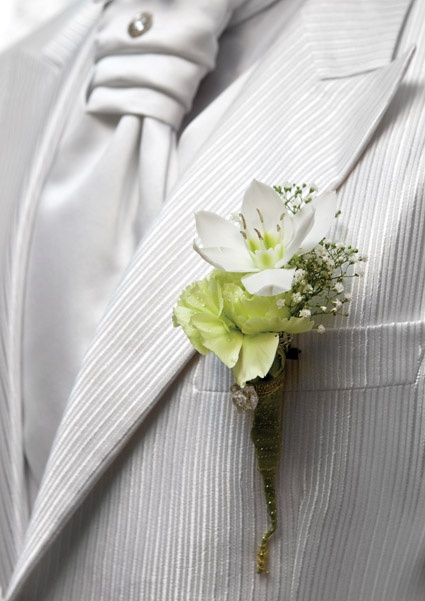 manly and pretty boutonnieres