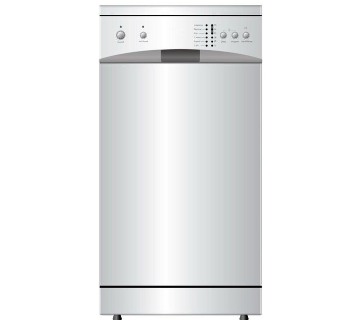 ESSENTIALS CDW45W13 Slimline Dishwasher - White