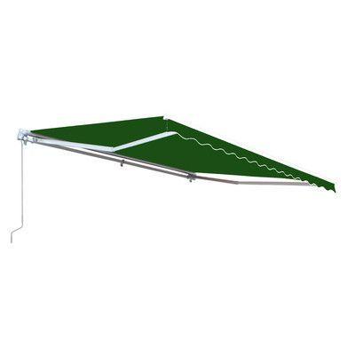 Aleko 10 ft. x 8 ft. Rectangular RV Awning Fabric Replacement Color: Green