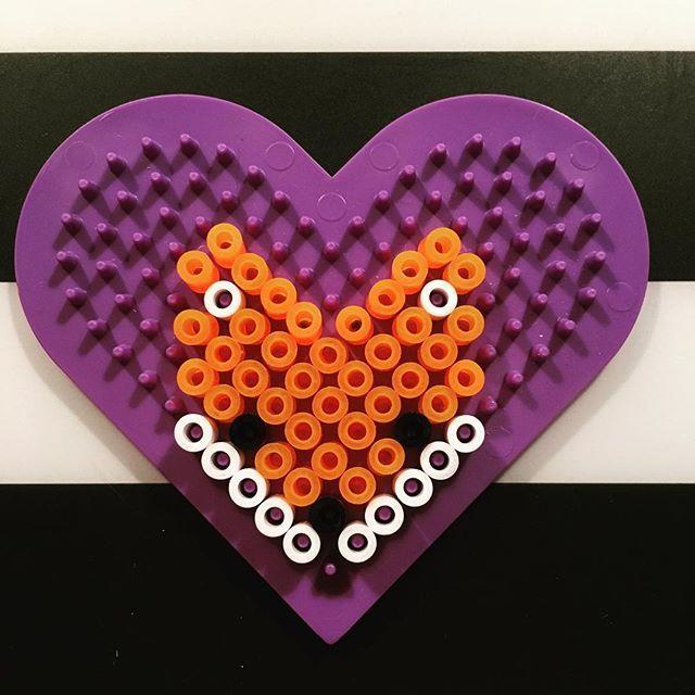 Fox hama beads by tinibon