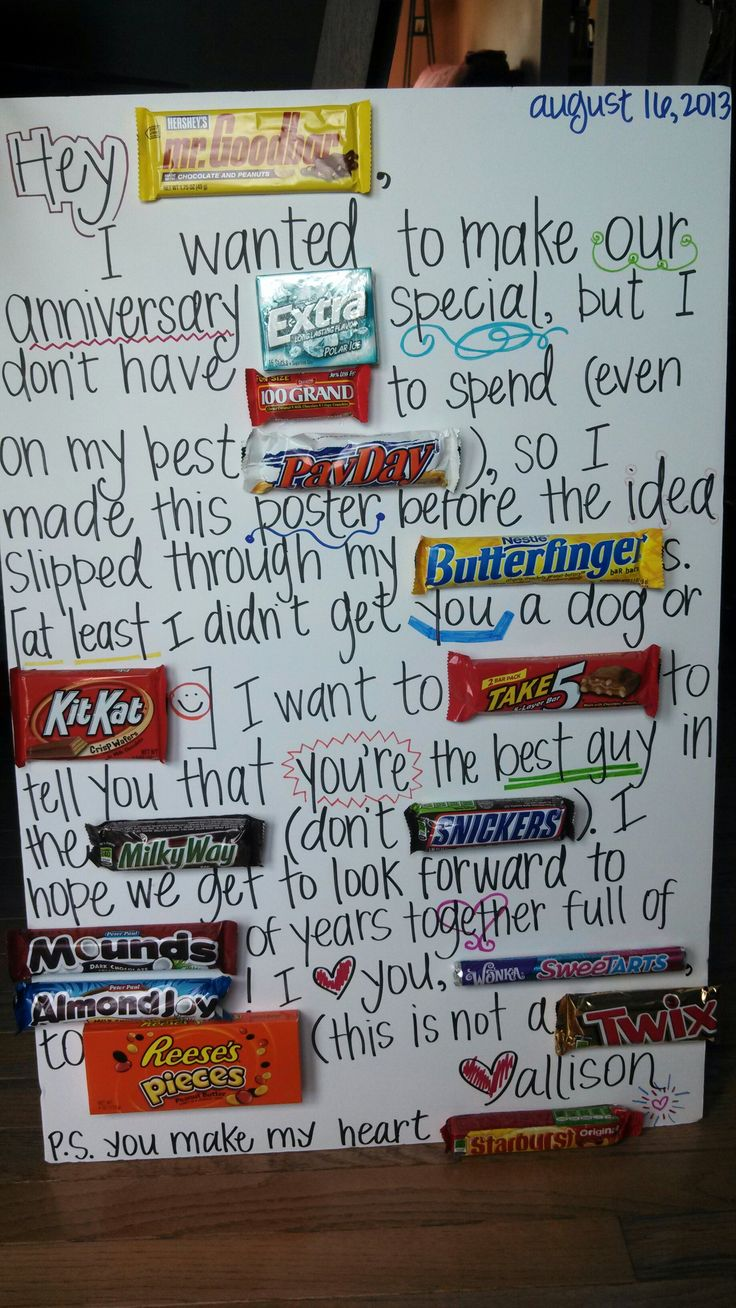 Ben's candybar poster