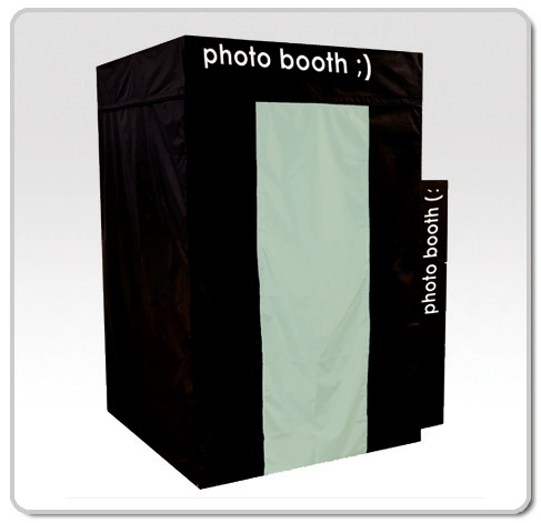 Old time photo booth rental