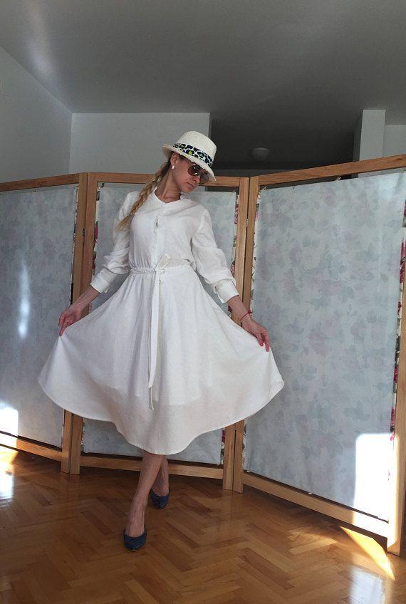 14 best Linen dress images on Pinterest | Dresses for women, White ...