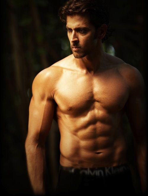Hrithik Roshan - Because he is quite possibly one of the hottest Indian actors EVER, be it his abs, eyes, or movies that I loved.