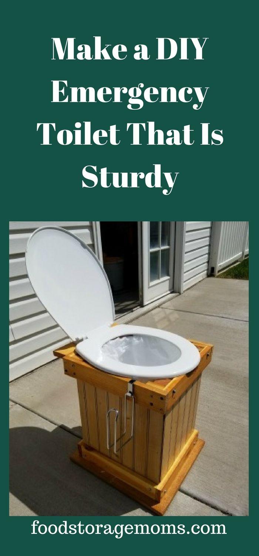 Make A DIY Emergency Toilet That Is Sturdy