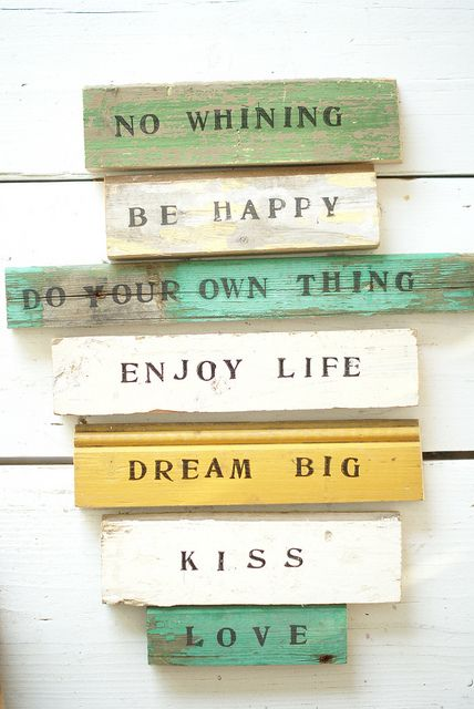 <3Words Of Wisdom, Beach House, Wood Scrap, Inspiration, Dreams Big, Life Rules, Quotes, Wood Signs, House Rules