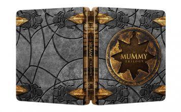 [Vorbestellen] Die Mumie Trilogie  Steelbook  (Blu-ray)