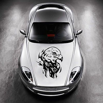 TRIBAL EAGLE BIRD TATTOO DESIGN HOOD CAR VINYL STICKER DECALS GRAPHICS SV4913
