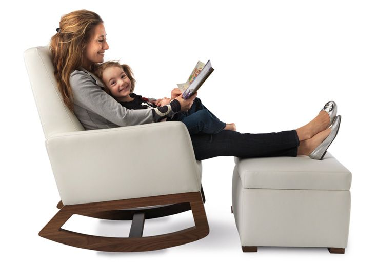 Relax in the Joya Rocker while you rock your baby to sleep. Modern nursery furniture by Monte Design.