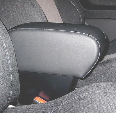 ALFA ROMEO MITO Armrest with large storage in dark grey Italian Real leather