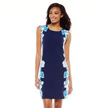 9 dresses at Kohl's - Shop our full line of women's dresses, including this  Apt. 9 Floral Pleated Shift Dress, at Kohl's.