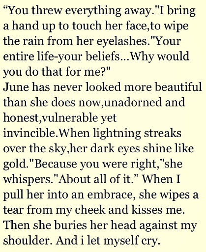 Because I'm obsessed with this book and I love this part<3 June and Day=my lifeeeee. Legend
